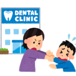 歯医者さんで子供の歯の予